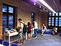 HK Wan Chai Mallory Street 灣仔 Comix Home Base 動漫基地 Reading room interior visitor Oct-2013.JPG