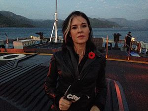 Avery Haines - Avery Haines reporting from HMCS Toronto