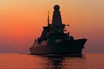 HMS Dragon at Sunset MOD 45158449.jpg