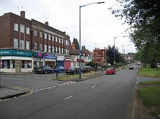 Quinton, Birmingham - Image: Hagley Road West geograph.org.uk 195183