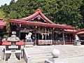 Haiden of Kanahebi-Suijinja shrine 1.JPG