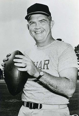 1957 Houston Cougars football team - Head Coach Hal Lahar