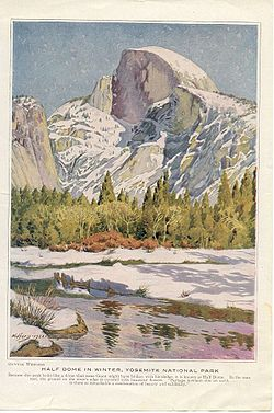 Half Dome by Gunnar Widfoss(1922)