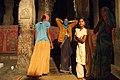 Hampi, India, Hindu women in Virupaksha Temple.jpg