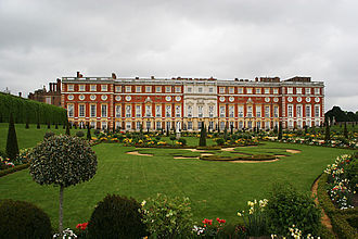 Florham - The Wren wing of Hampton Court Palace, inspiration of Florham.
