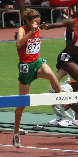 Athletics at the 2007 Pan Arab Games - Hanane Ouhaddou's steeplechase gold and 5000 m bronze helped Morocco top the table