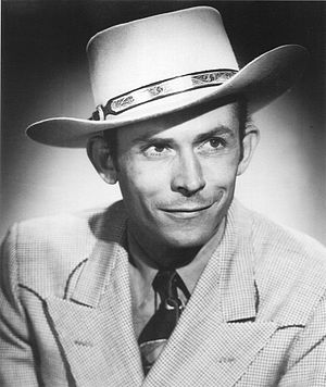 George Jones - Hank Williams, Jones' biggest musical influence.
