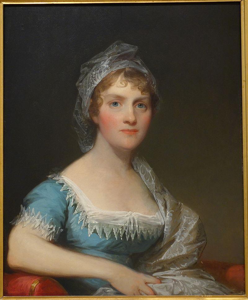 Ханна Такерман Гилберта Стюарта, 1814, масло на борту - Художественный музей Чейзена - DSC02530.JPG