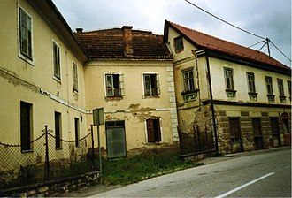 Gradac, Metlika - Image: Hanzelnova hiša