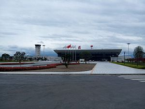 Hanzhong - Hanzhong Chenggu Airport