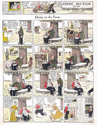 Frederick Burr Opper - Frederick Opper's Happy Hooligan (October 23, 1921)