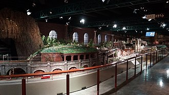 "Hara Model Railway Museum - The ""Ichiban Tetsumo Park"" 1-gauge layout in March 2014"