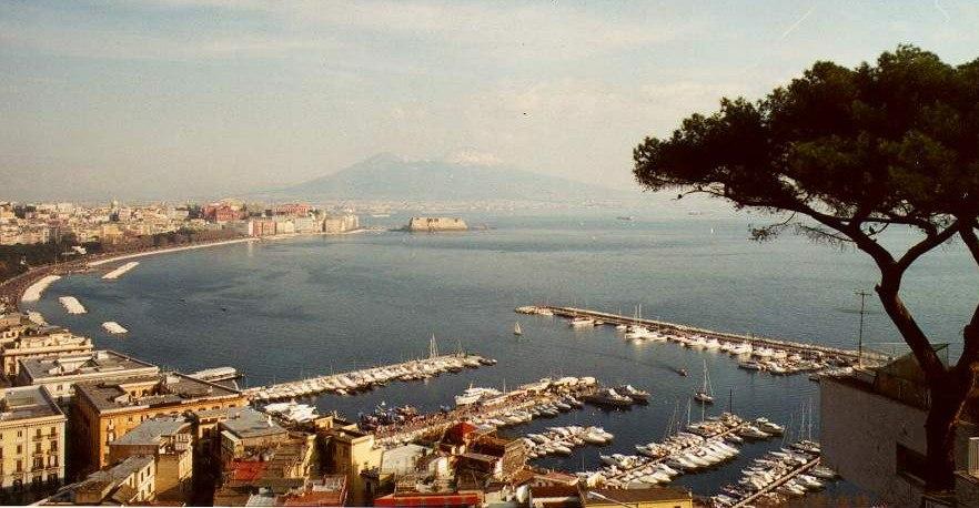 Harbour of Mergellina - gulf of Naples