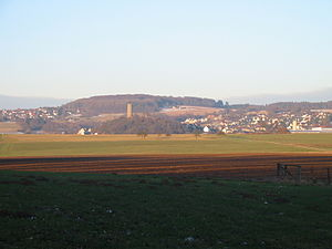 Hartenfels - Hartenfels together with the Burgberg