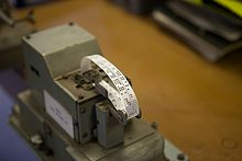 Punched tape - Wikipedia