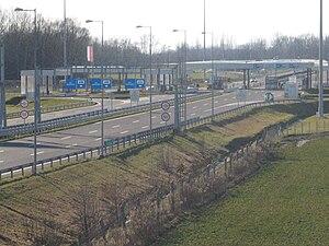 Zrinski Bridge - Goričan/Letenye border crossing adjacent to the Zrinski Bridge