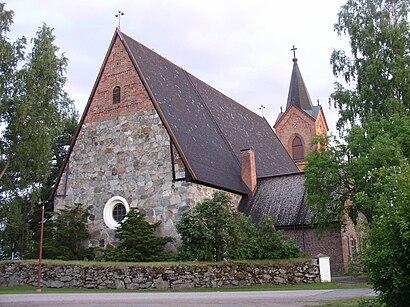 Kuinka päästä määränpäähän Hauhon kirkko käyttäen julkista liikennettä - Lisätietoa paikasta