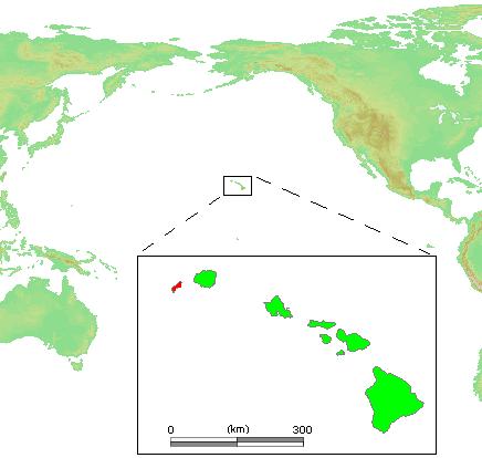Hawaii Islands - Ni ihau