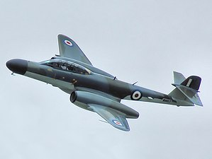 Hawker Hunter T7A at Kemble Air Show, Gloucestershire.jpg