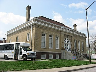 Carnegie library in the Indianapolis Public Library system