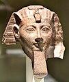 Head of Hatshepsut or Thutmose III, from Egypt. Neues Museum, Germany.jpg