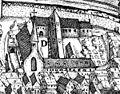 Heilbronn, Klarakloster, Stadtansicht von Johann Sigmund Schlehenried, 1658.jpg