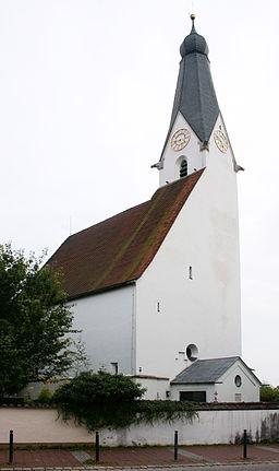 Heilig Geist Kirch Pullach im Isartal