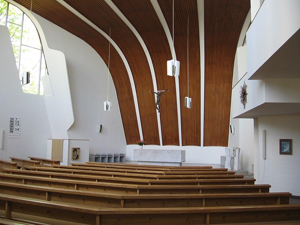 Heilig Geist Kirche Wolfsburg Alvar Aalto 1958 62 photo by Christian Gänshirt