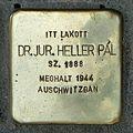 Heller Pál stolperstein (Budapest-05 Falk Miksa u 24-26).jpg