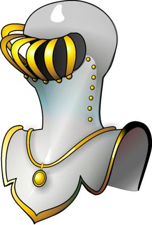Helmet (heraldry) - Image: Helm comte