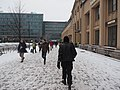 Helsinki Central railway station in snow.jpg