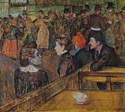 Henri de Toulouse-Lautrec: Moulin de la Galette