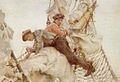Henry Scott Tuke - Stowing the headsails (1914).jpg