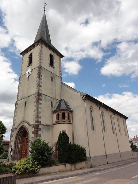 Herbéviller (M-et-M) église