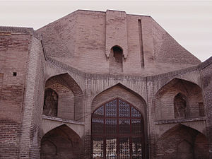 Heidarieh Mosque, Qazvin - Image: Heydarieh mosque qazvin