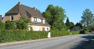 Farmsen-Berne - Residential houses in Gartenstadt (lit. garden city) Berne