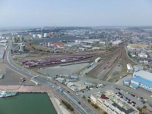 秋田港駅's relation image