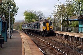 NIR Class 450 - 8458 at Hilden