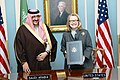Hillary Rodham Clinton and Prince Mohammed bin Naif bin Abdulaziz after signing ceremony 2013-01-16.jpg