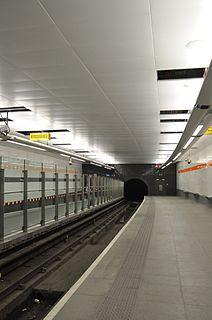 Hillhead subway station Glasgow subway station
