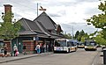 Hillsboro Transit Center north side with buses and riders (2013).jpg