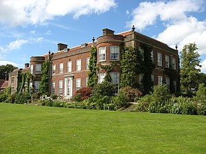 Hinton Ampner - Image: Hinton Ampner House, from lawn