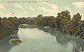 Hocking River, West from South Bridge, Athens, Ohio (12659910823).jpg