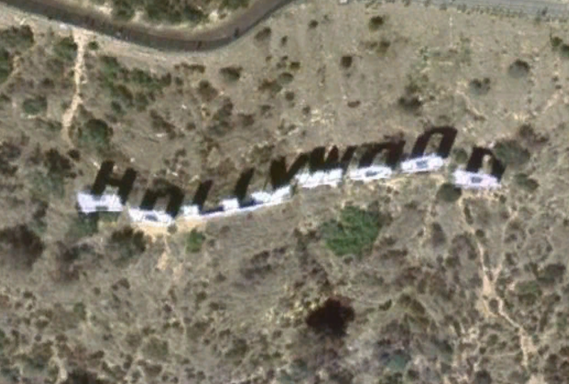 File:Hollywood Sign satellite view.png