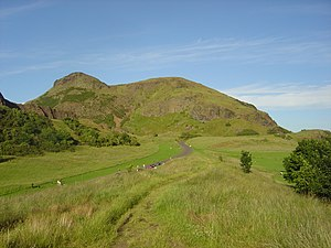 Great Edinburgh International Cross Country - The race takes place in the green backdrop of Holyrood Park