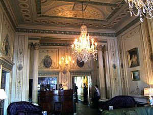Elizabeth Home, Countess of Home - An interior of Home House, as seen in 2004