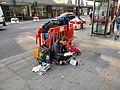 Homeless in London, Tottenham Court Road Sept. 2018.jpg