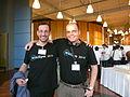 Hong Kong Wikimania Piotrus and Peter.JPG