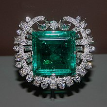 e909e06f3 Hooker Emerald Brooch, commissioned by Tiffany in 1950