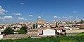 Horcajo de Santiago, vista de la población desde Carretera de Pozorrubio, 01.jpg